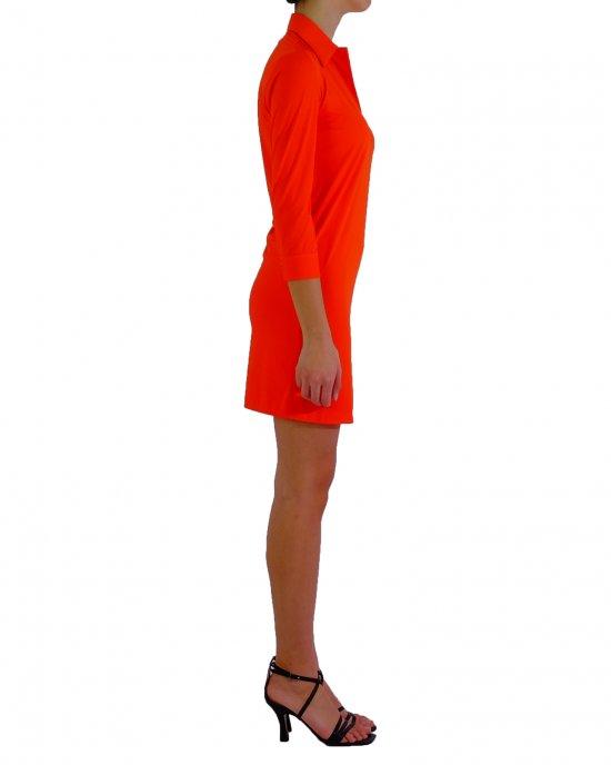 Abito RRD donna 21660 Dress Oxford Polo Lady Arancione