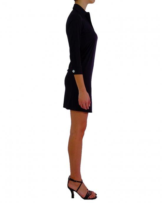 Abito RRD donna 21660 Dress Oxford Polo Lady Nero
